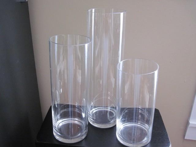 Tall Cylinder Vases Bulk 24