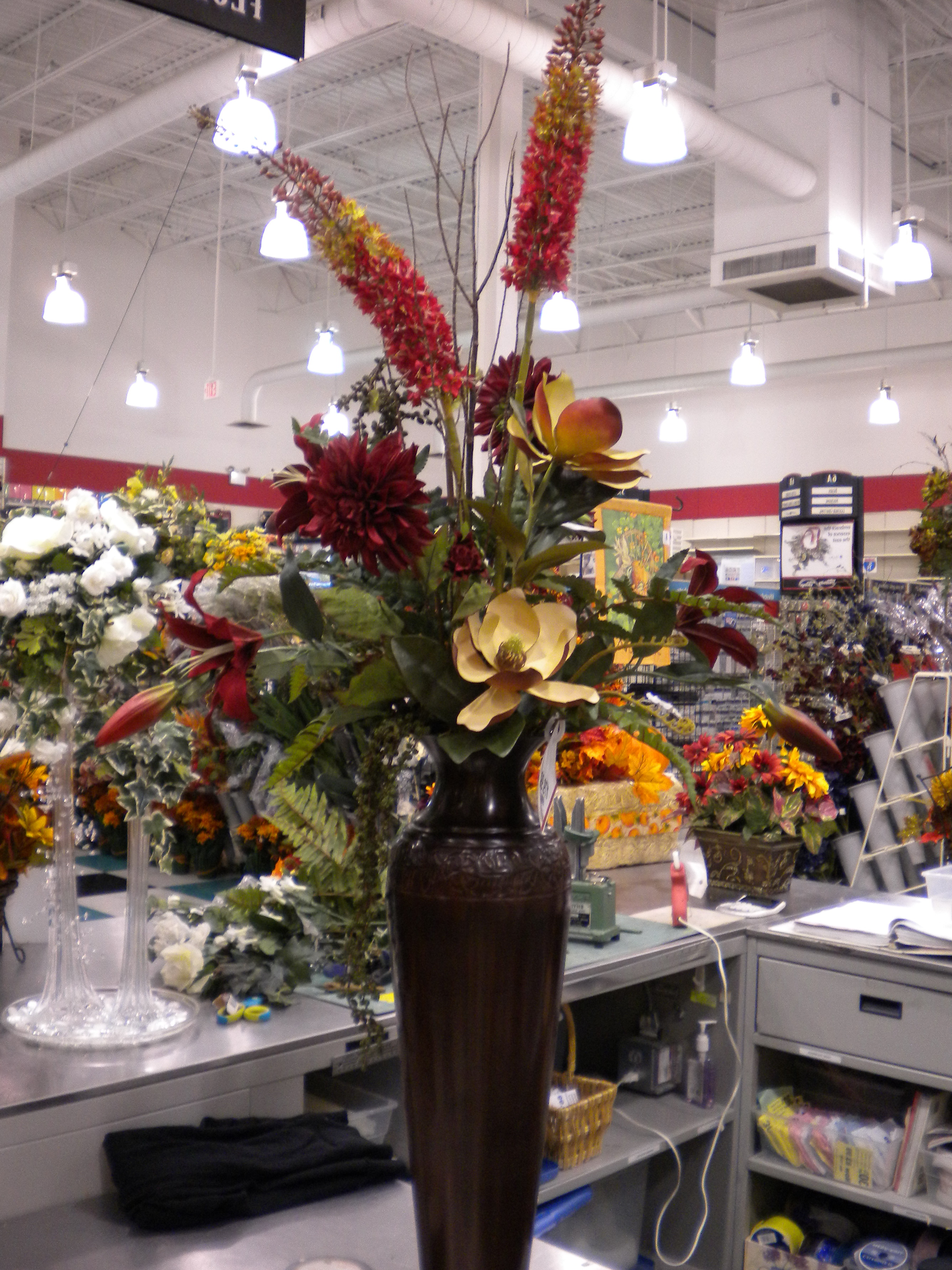 Tall Floor Vase Floral Arrangements Home Design Ideas