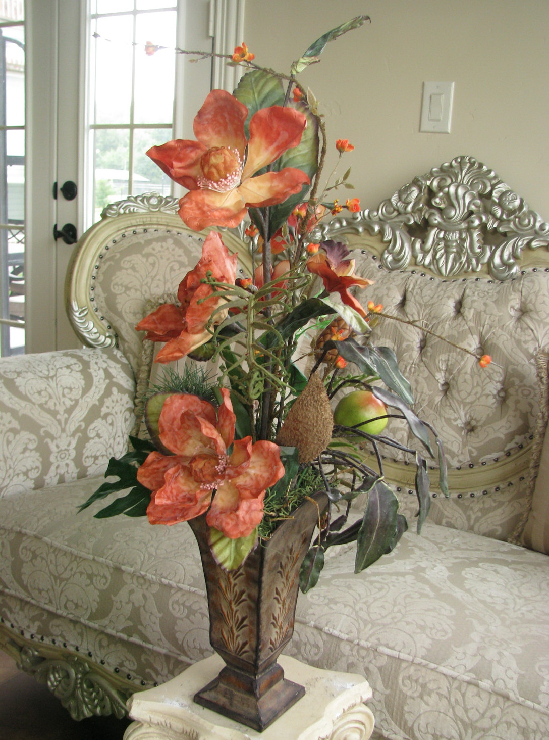 Tall Floor Vases With Artificial Flowers Home Design Ideas