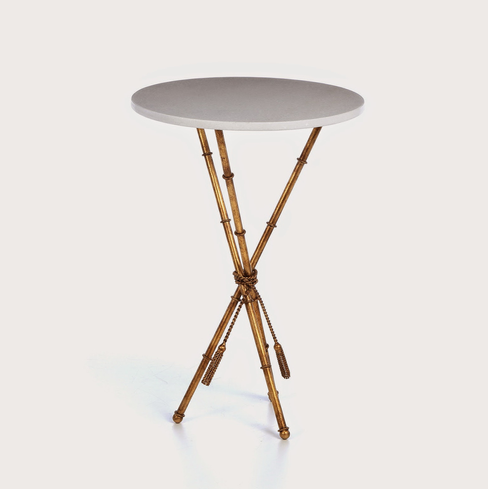 Threshold Gold Accent Table