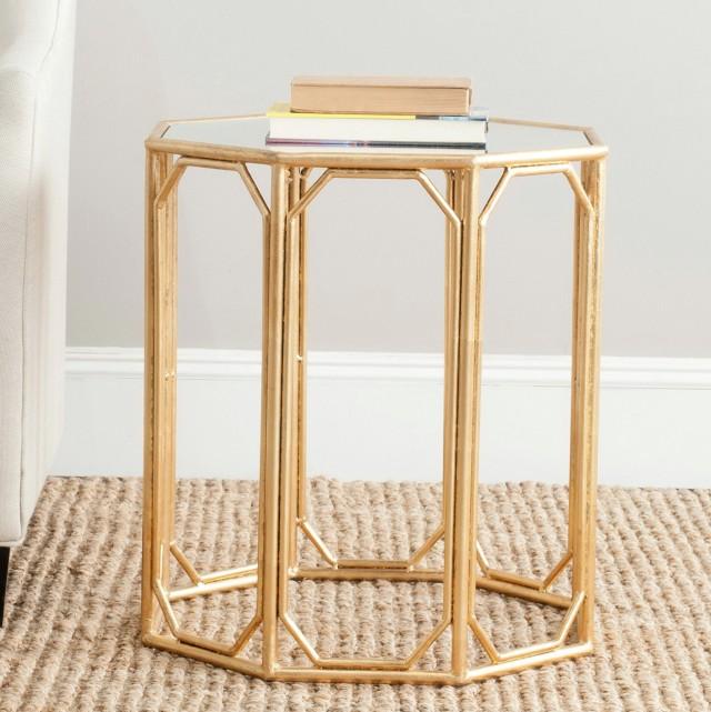 Upton Home Dalton Mirrored Accent Table