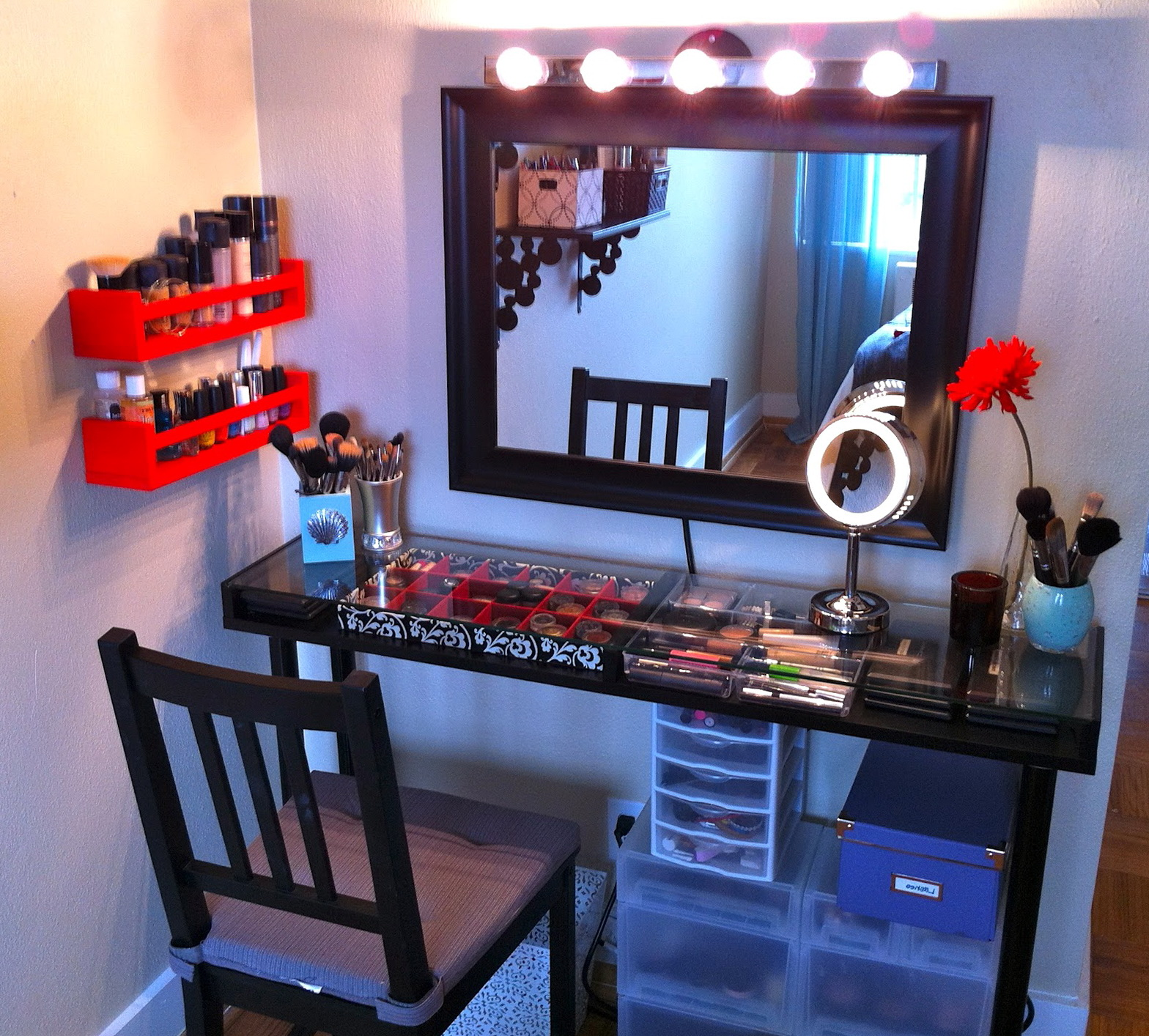 Vanity Mirror With Lights Diy