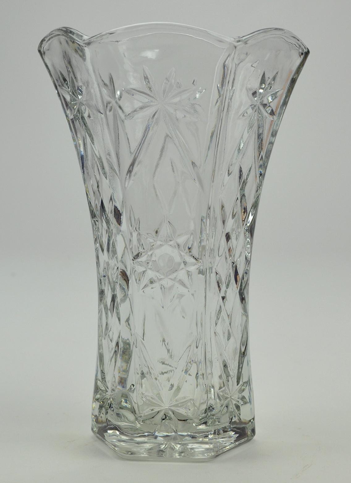 Glass Vase Vintage 12