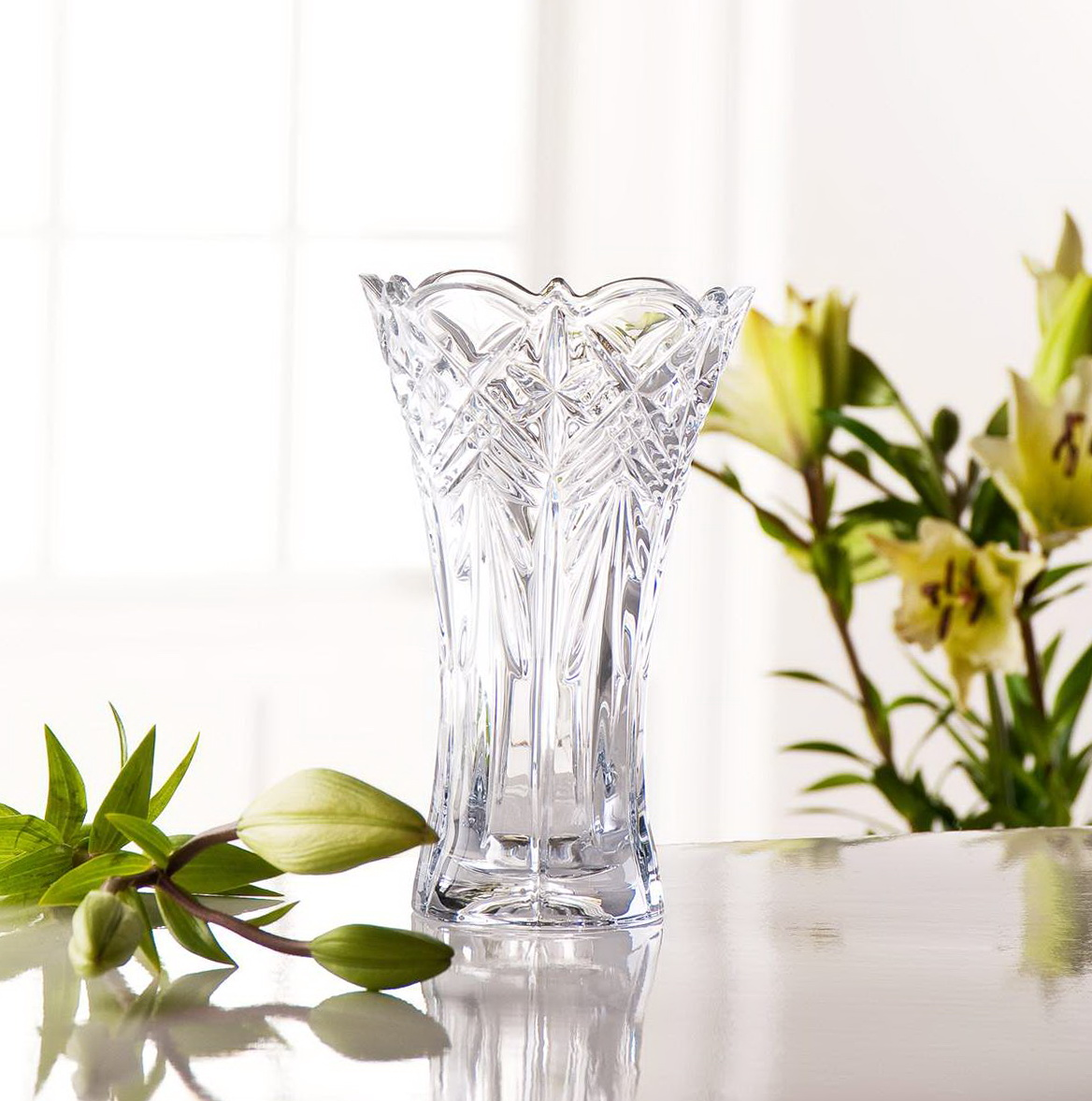 Waterford Crystal Vase 8 Inch