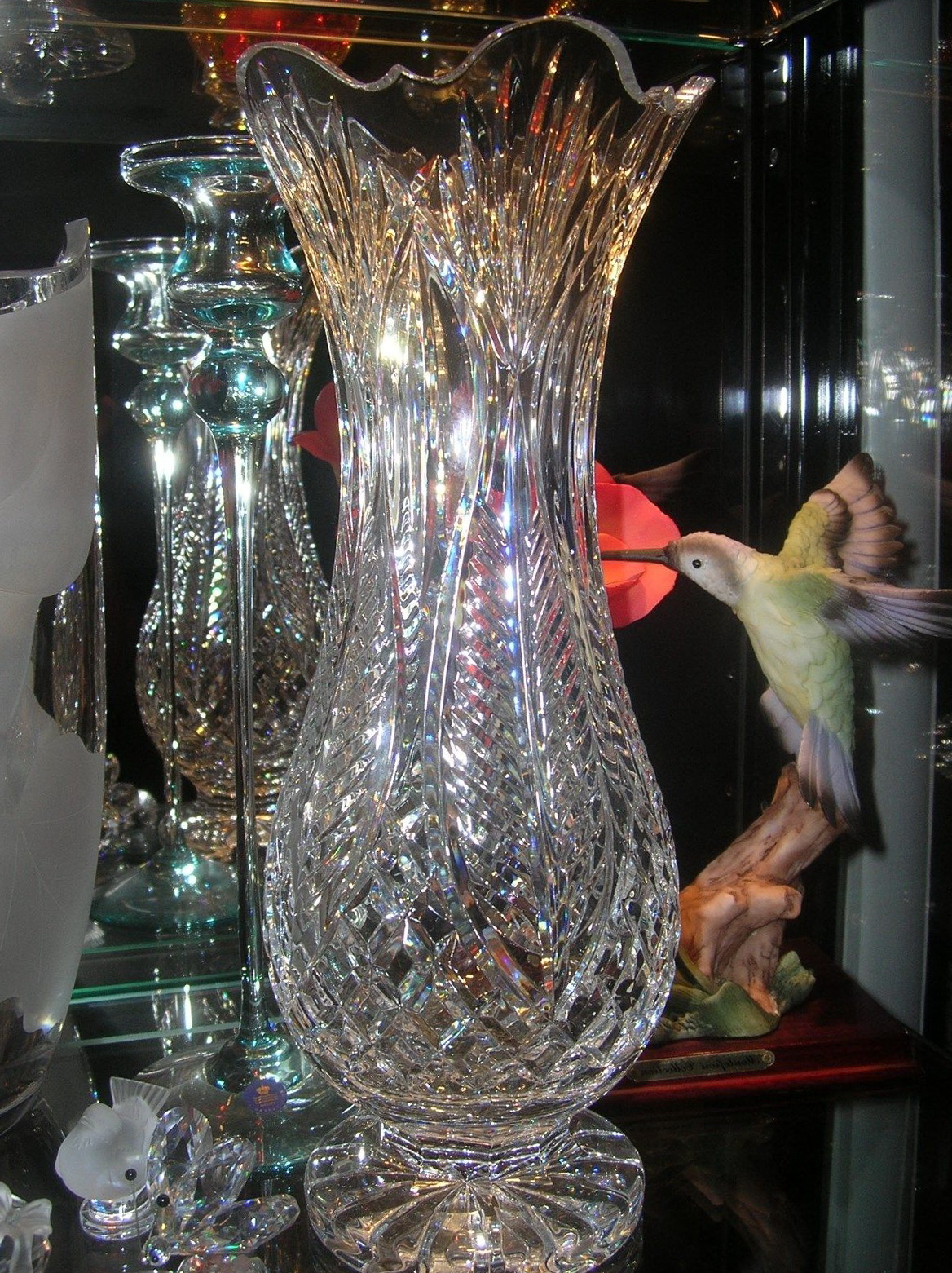 Waterford Crystal Vase Ebay