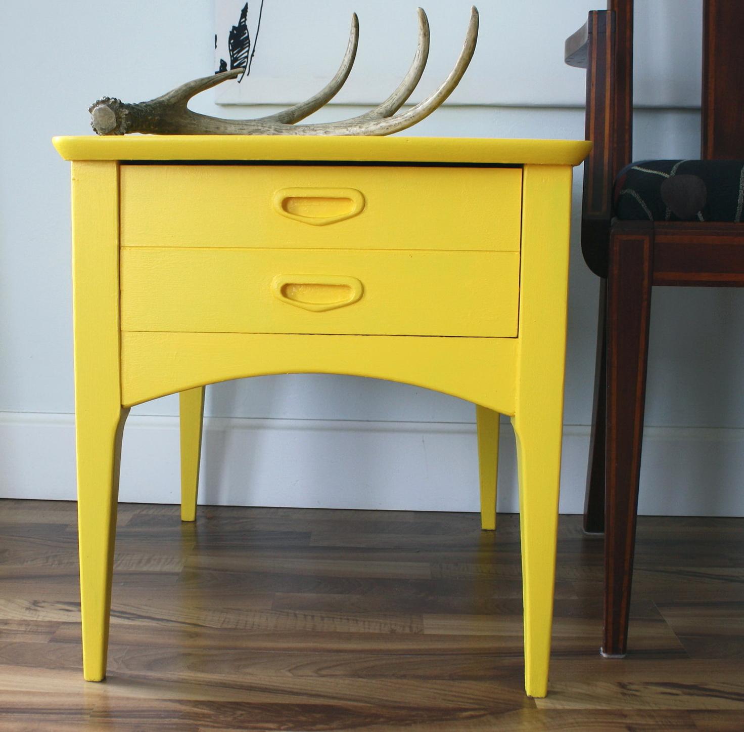 Yellow Side Table Ikea