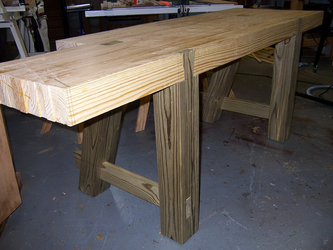 2x4 Woodworking Bench Plans