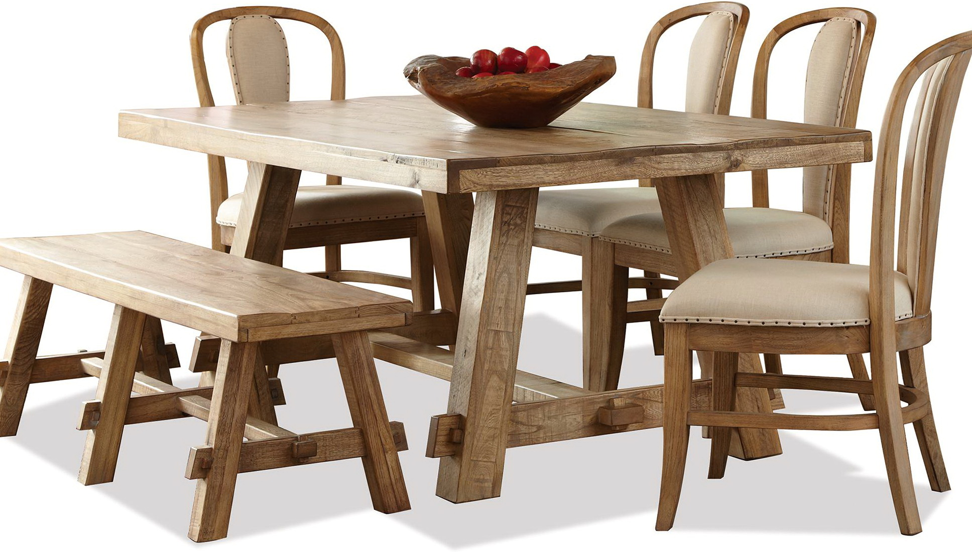 6 Piece Dining Set With Bench
