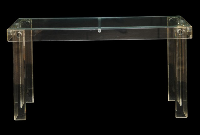 Acrylic Console Table Sale