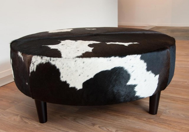 Animal Print Ottoman Coffee Table