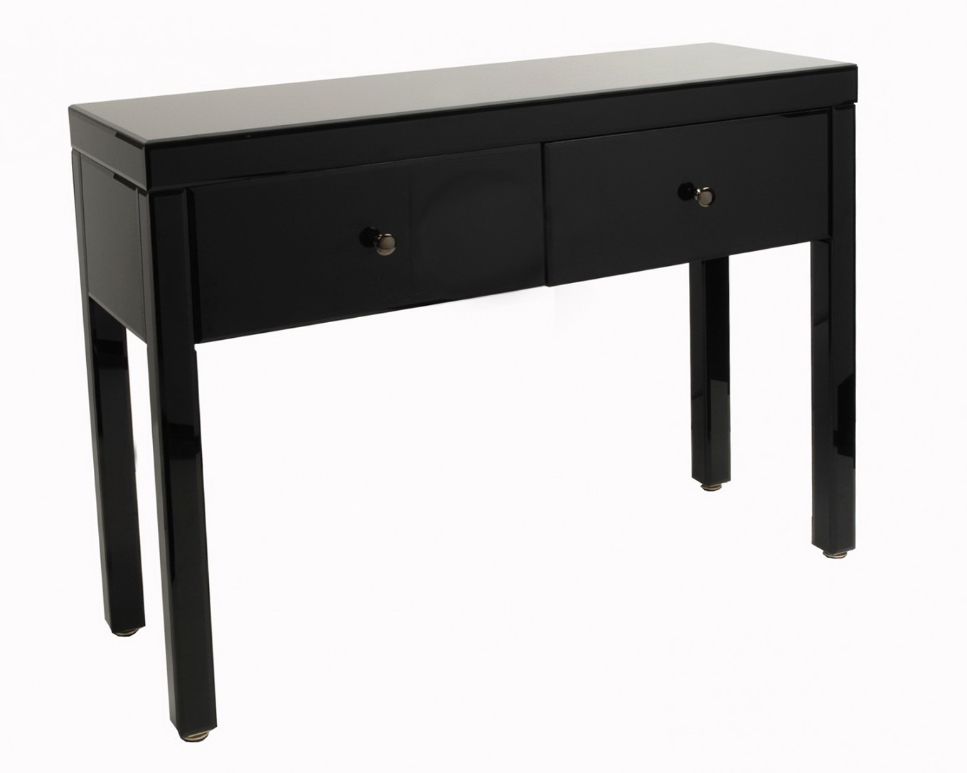 Asian Console Table Black