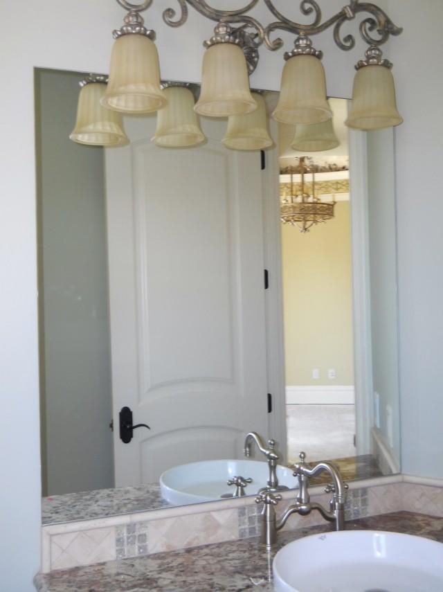 Bathroom Mirror Frames Kits