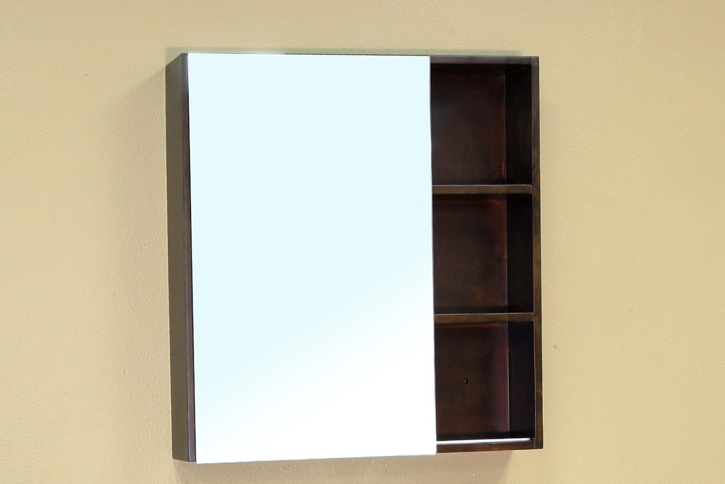 Wood mirrored medicine cabinet aukro and ebay auction gallery bathroom mirror medicine cabinet Bathroom mirror cabinet design