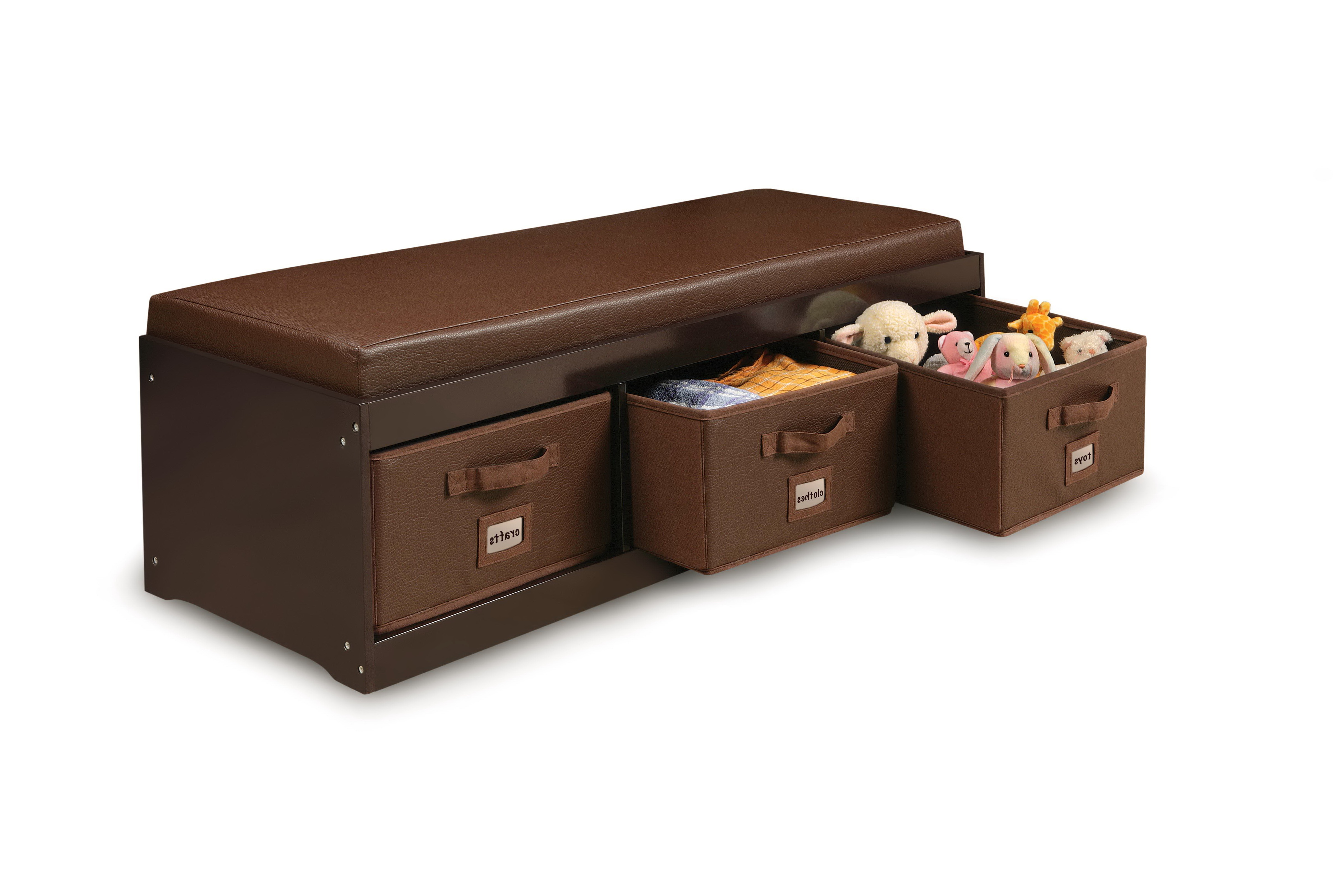 Bedroom Storage Bench With Cushion Home Design Ideas