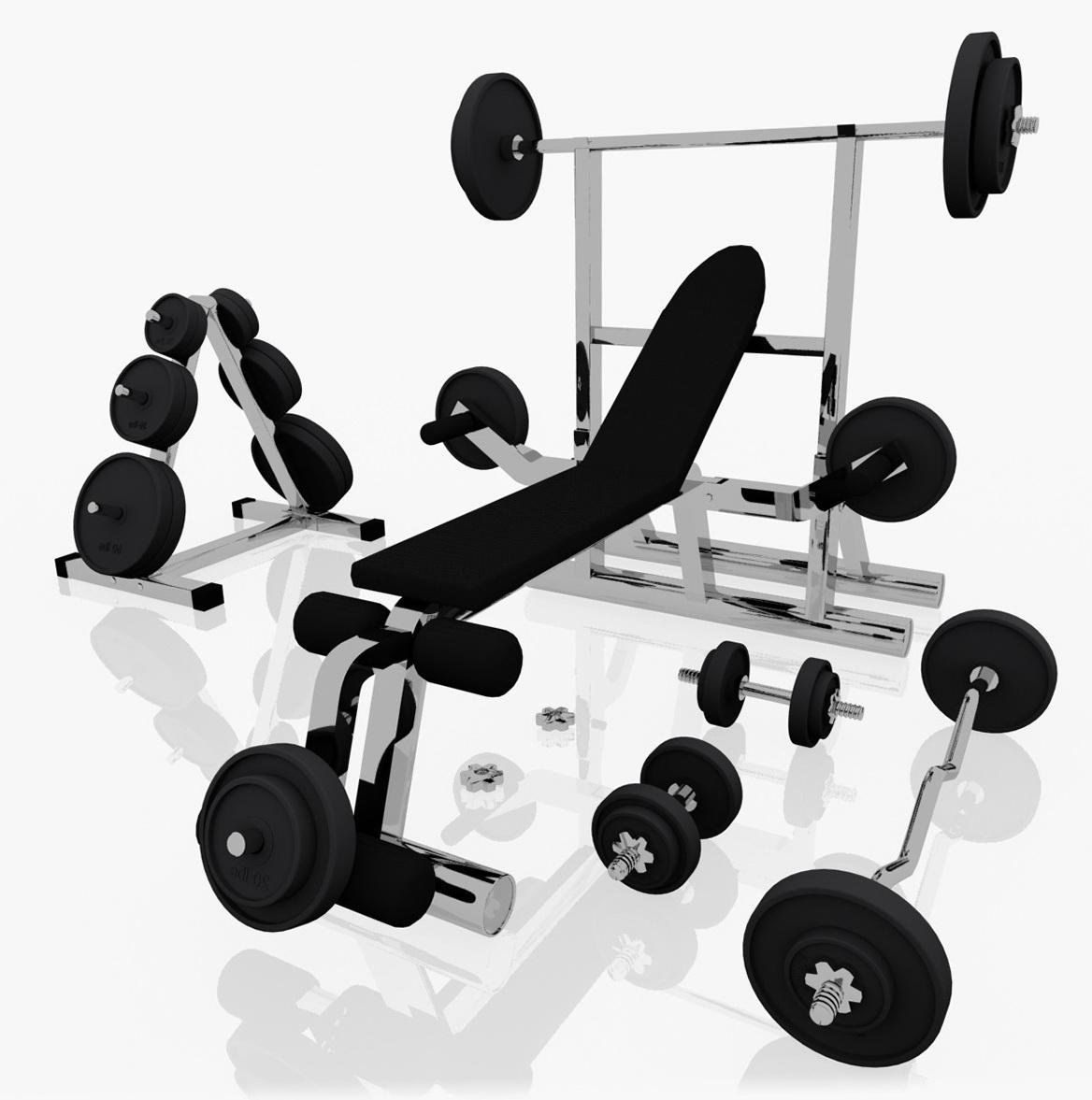 Bench Press Machine Workout