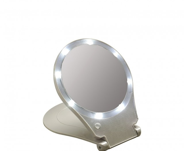 Best Lighted Makeup Mirror For Travel X on Hardwired Makeup Mirror 15x