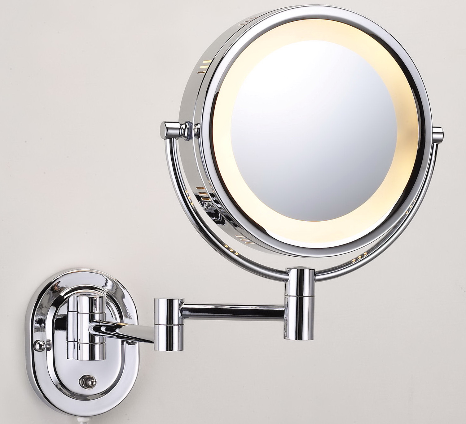 Best Lighted Makeup Mirror Wall Mount Home Design Ideas
