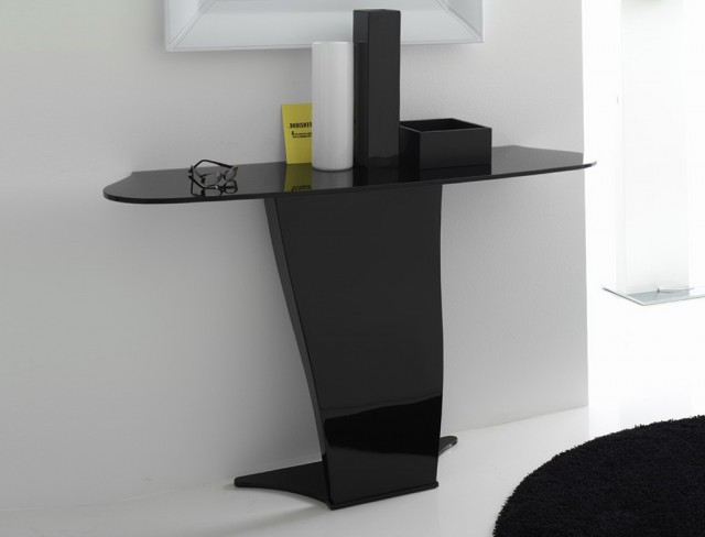 Black Console Tables Contemporary