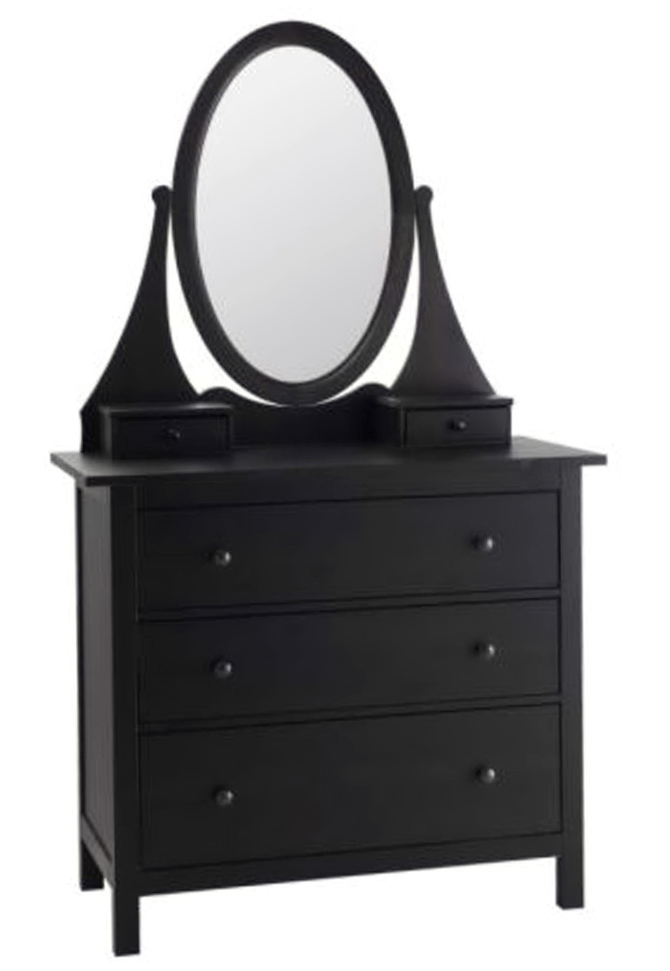 Mirrored Dresser Ikea Part - 25: Black Dresser With Mirror Ikea