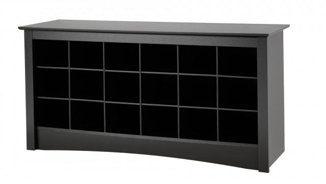 Black Storage Bench Walmart