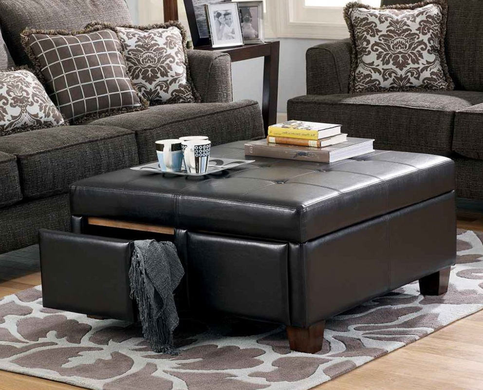 Black Storage Ottoman Canada Home Design Ideas
