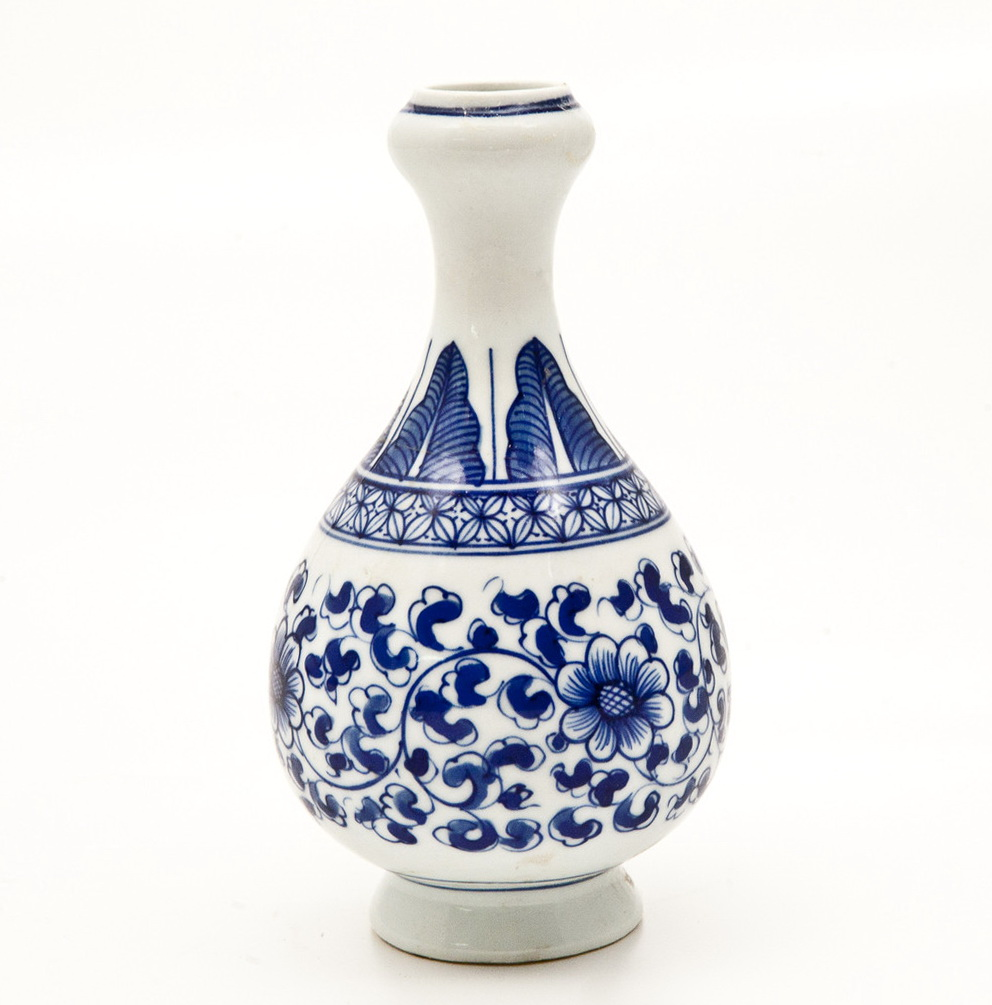 Blue And White Vase Tequila Home Design Ideas