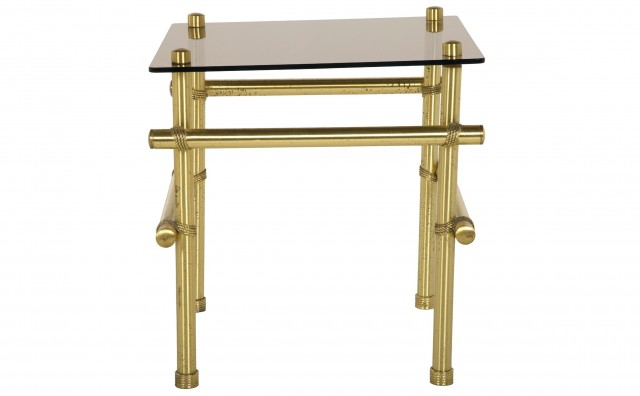 Brass Side Tables Vintage
