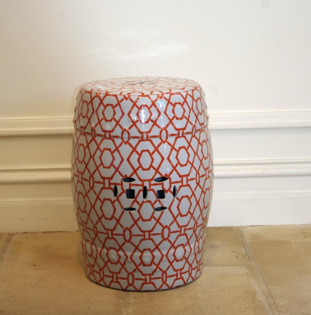 Ceramic Side Table Stool Home Design Ideas