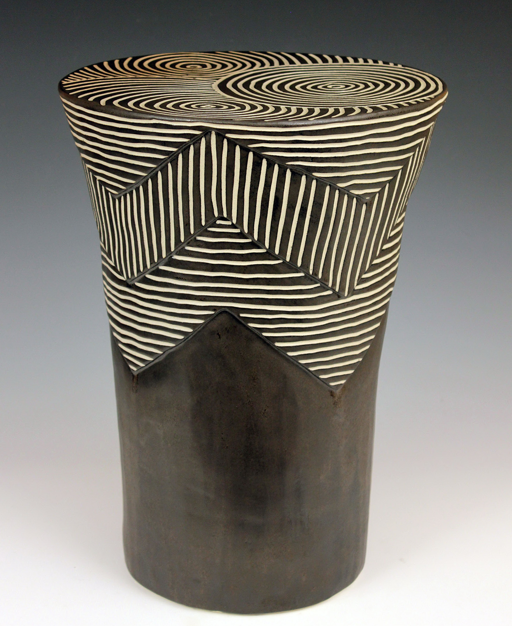 Ceramic Side Table Outdoor