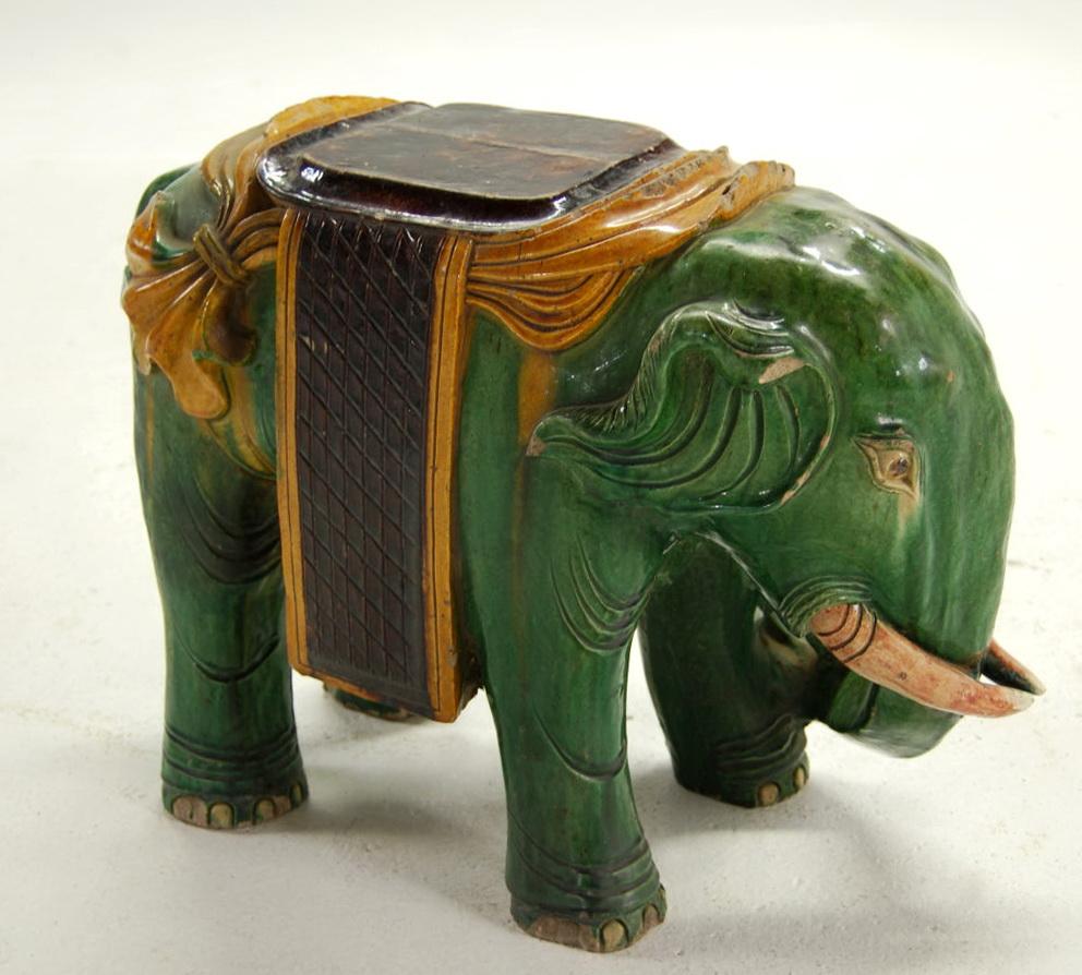 Ceramic Side Table Stool