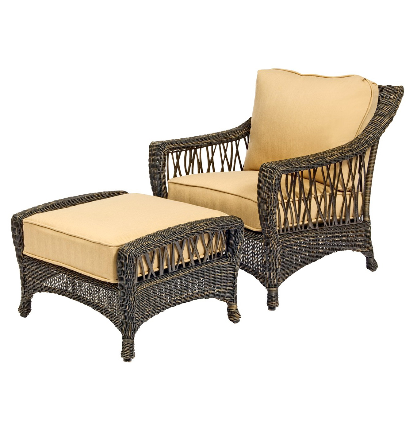 Chair And Ottoman Sets For Sale