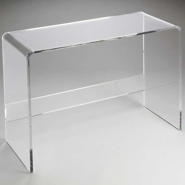 Clear Acrylic Console Table Part 29