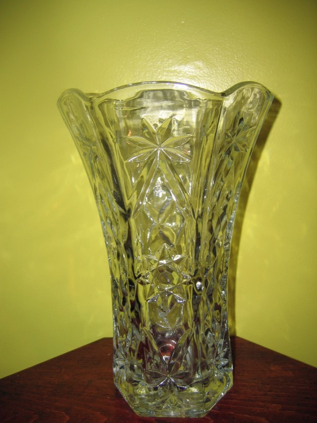 Clear Glass Flower Vases