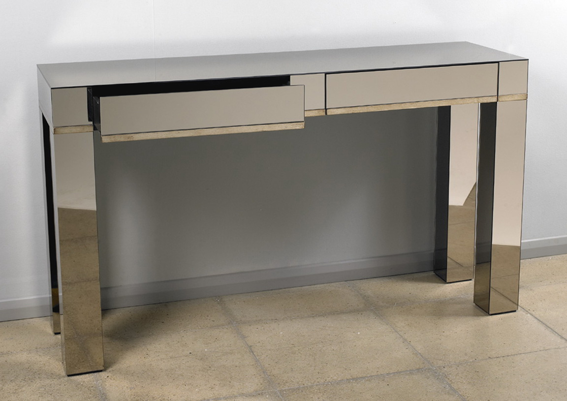 Console Table With Storage Modern
