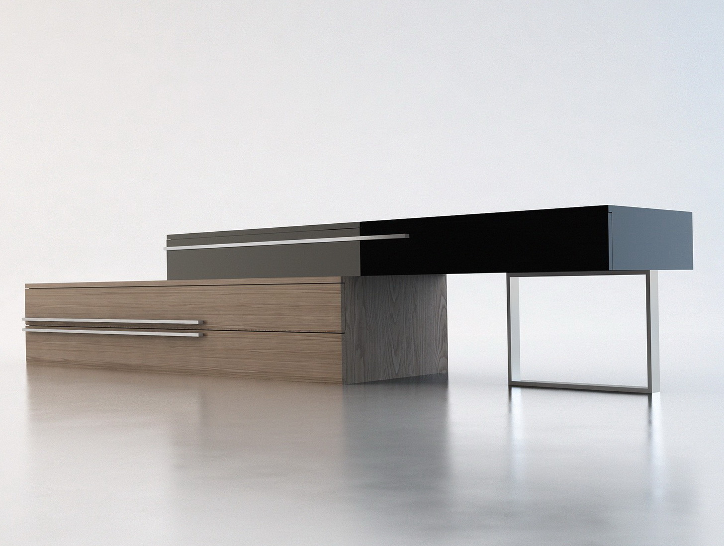 Contemporary Console Tables With Storage