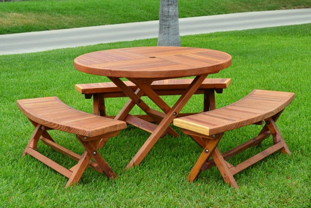 Convertible Picnic Table Bench Plans