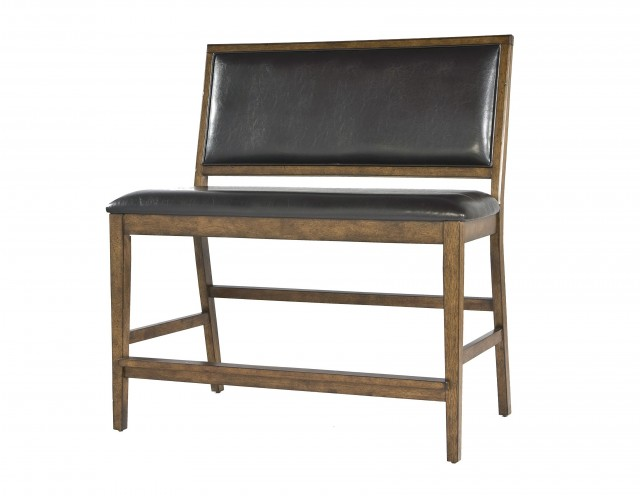 Counter Height Bench With Back