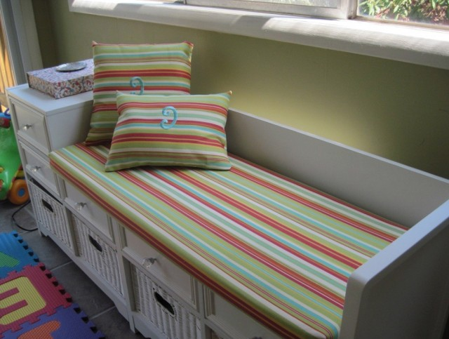 Custom Bench Cushion Indoor | Home Design Ideas