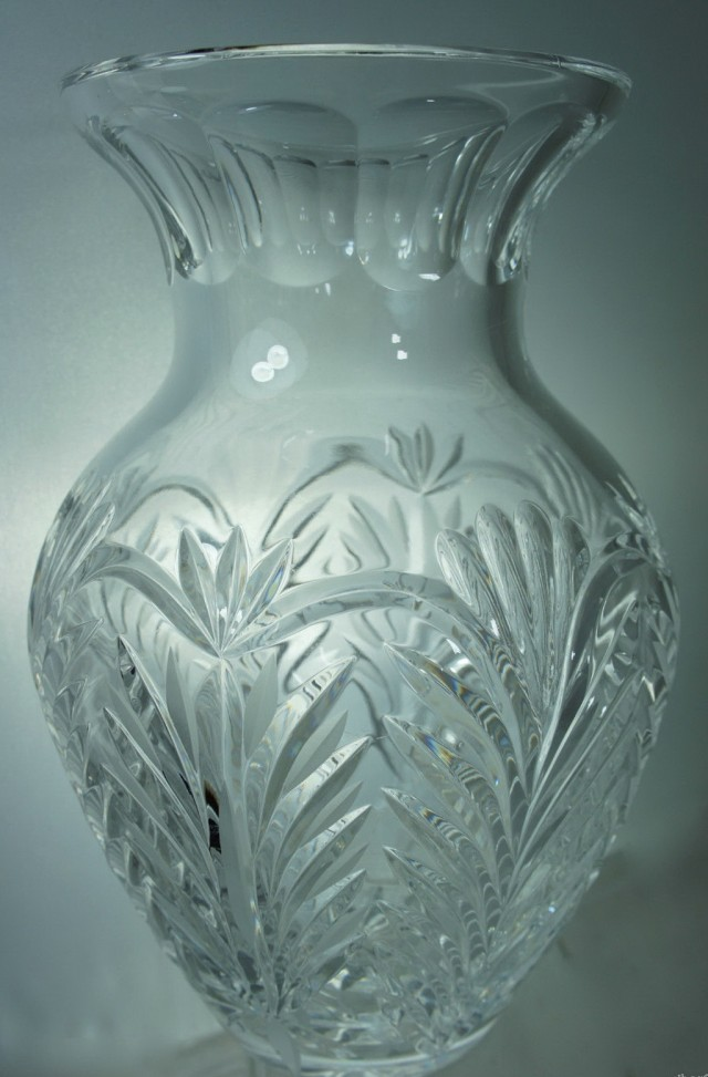 Cut Glass Flower Vases