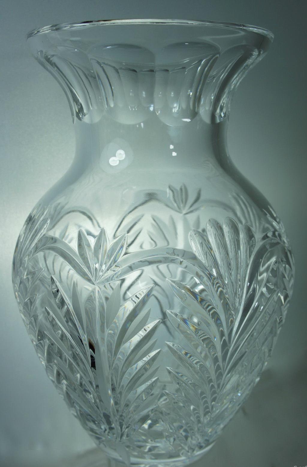 Cut Glass Flower Vases