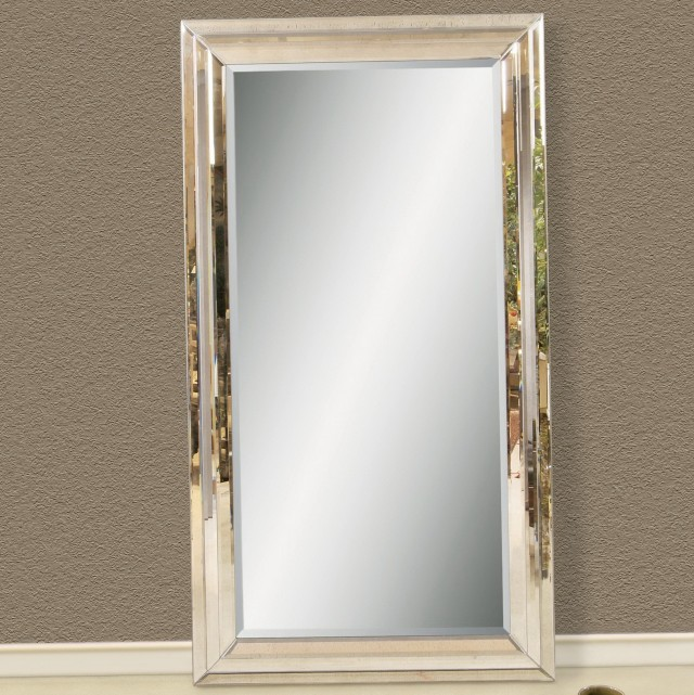 Decorative Leaning Floor Mirrors