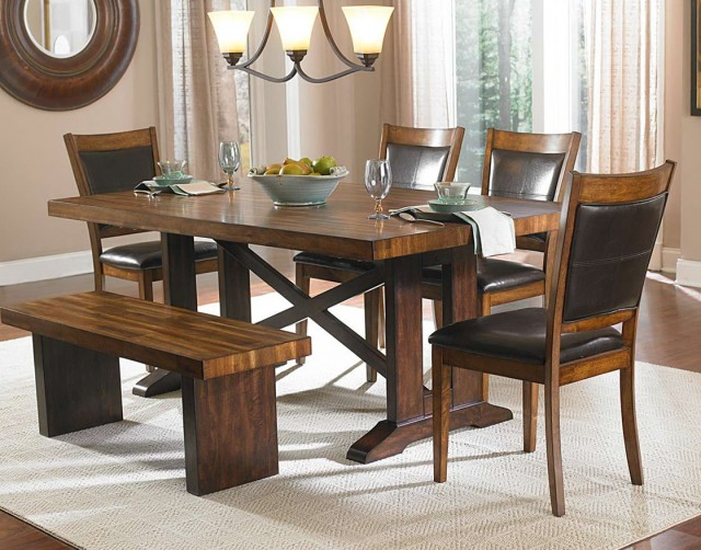 Dining Set With Bench Seating