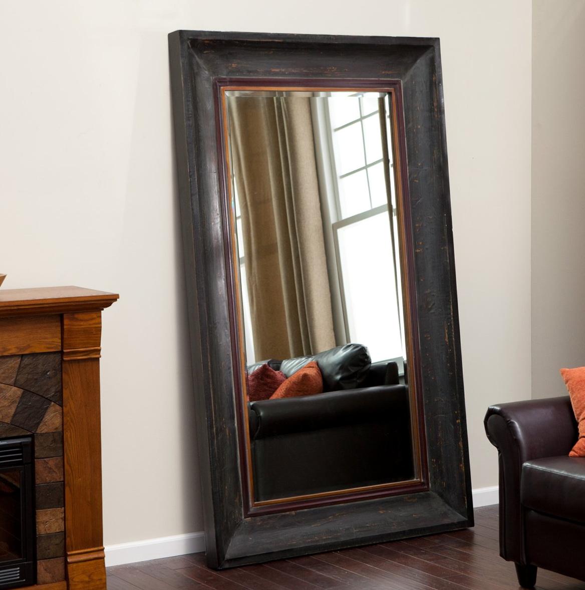 Diy Leaning Floor Mirror | Home Design Ideas
