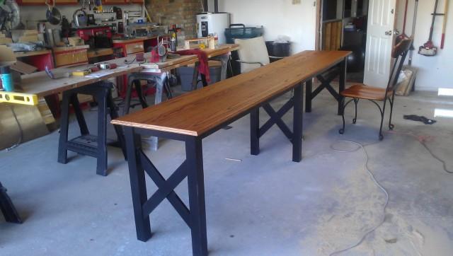 Diy Long Console Table