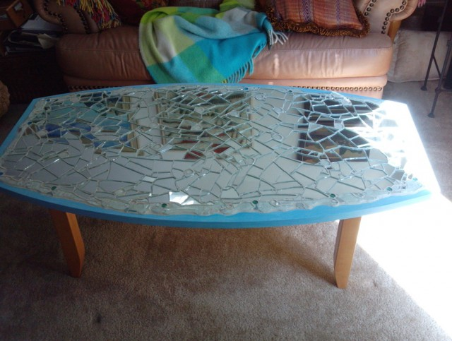 Diy Mirror Coffee Table