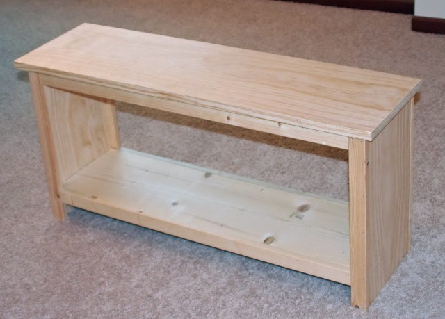 Diy Wood Bench Plans