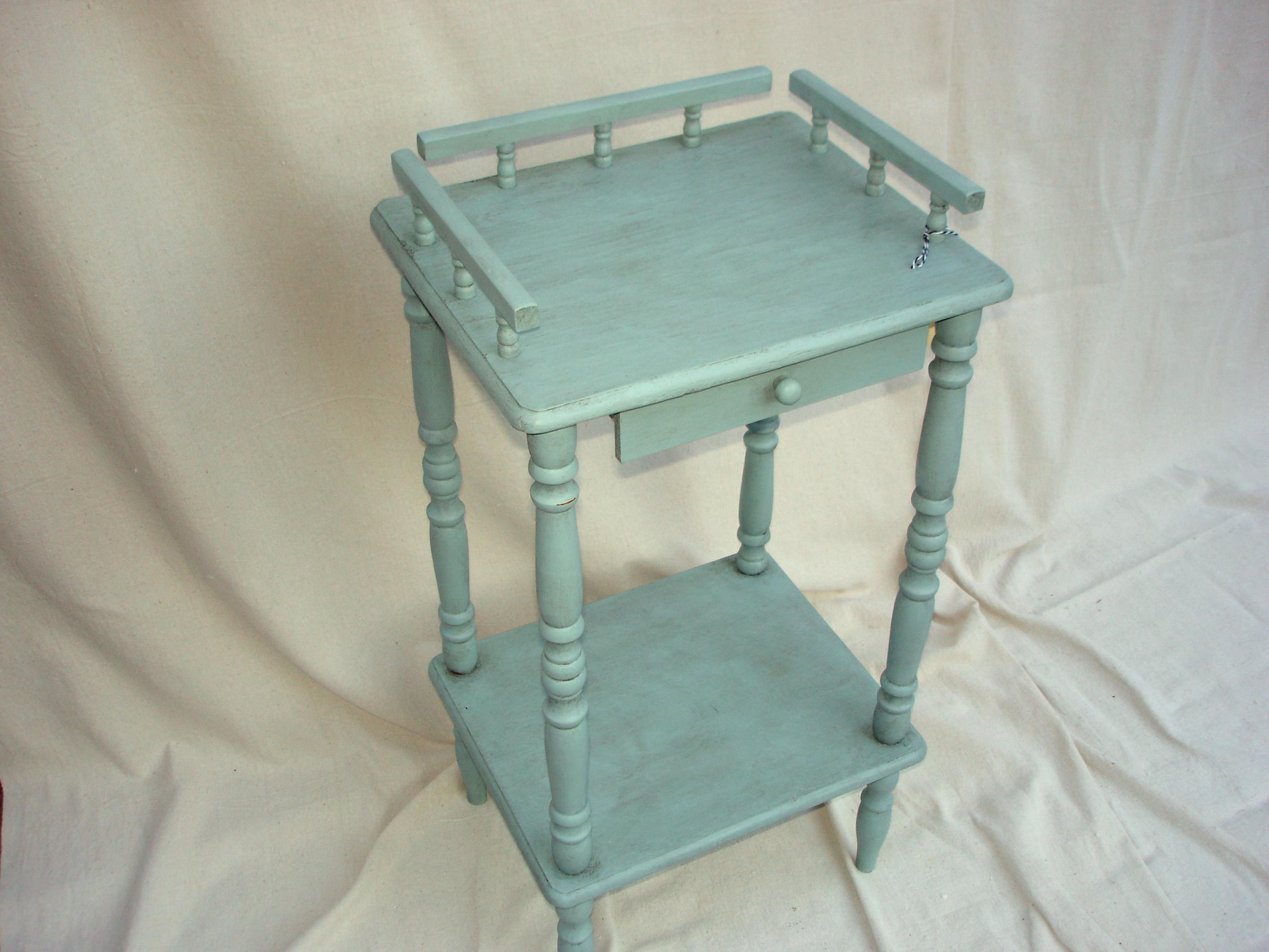 Duck Egg Blue Side Table
