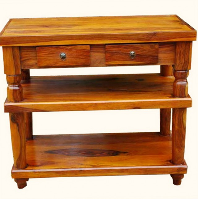 Entry Console Table With Drawers