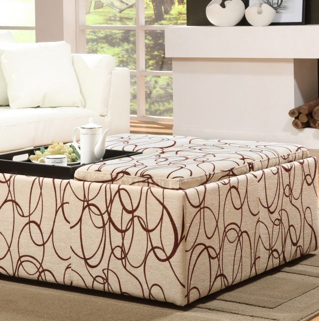 Extra Large Square Ottoman