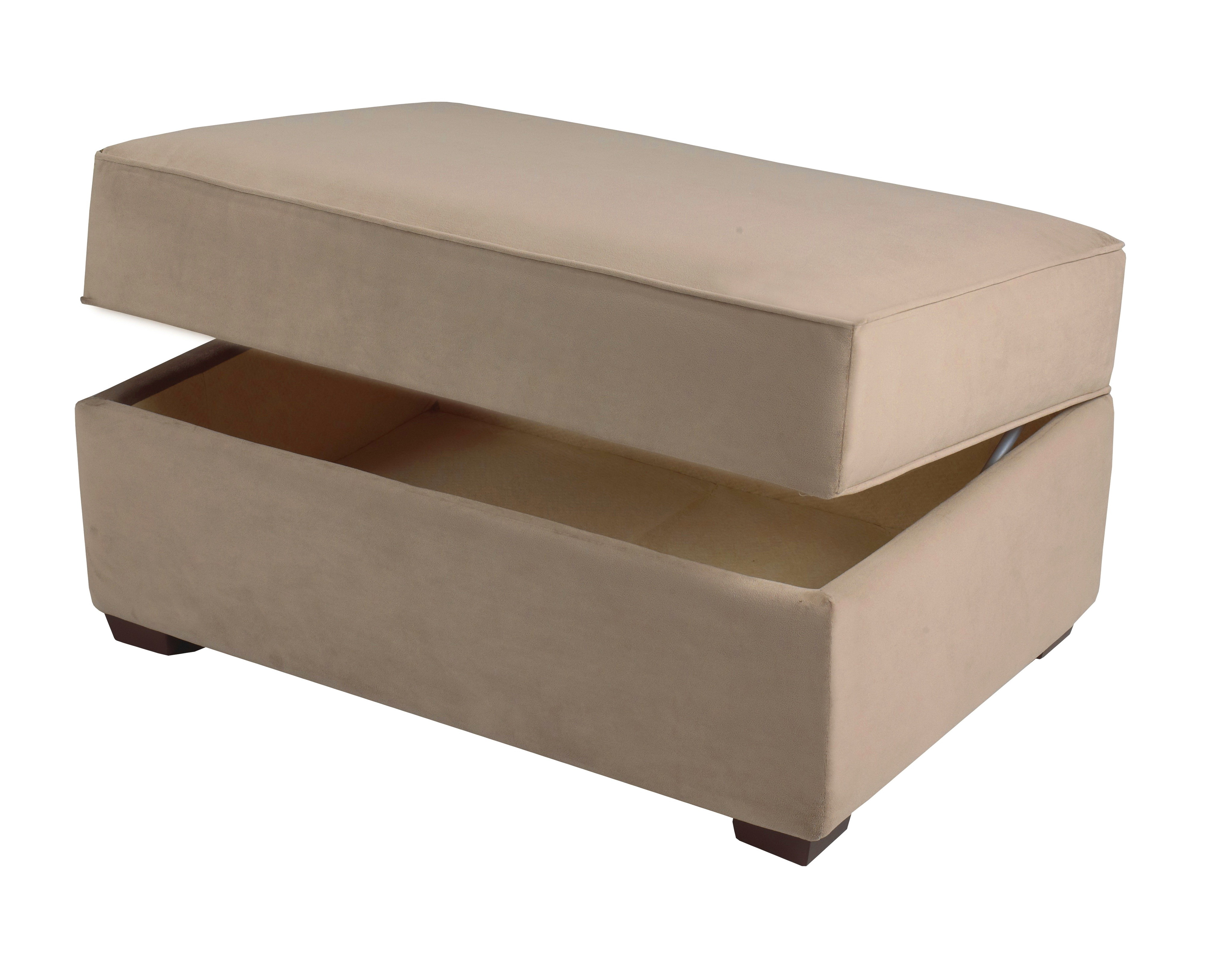 Fabric Ottomans With Storage